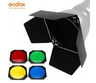 Godox rəngli filtr dəsti (Bowens)