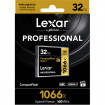 Lexar Professional CF 32 Gb 1066x (160Mb/s) UDMA7 yaddaş kartı