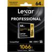 Lexar Professional CF 64 Gb 1066x (160Mb/s) UDMA7 yaddaş kartı