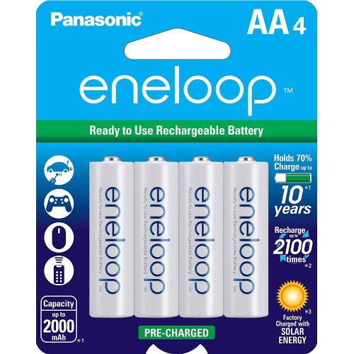 Panasonic Eneloop AA tipli batareya (4 ədəd)