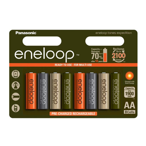 Panasonic Eneloop Expedition Tones (8 ədəd)