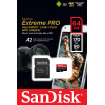 Sandisk Extreme microSDXC 64 Gb (170 Mbs, 1333x, Klass 10)